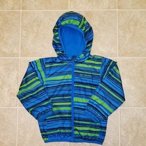 Columbia Hooded Toddler Rain Coat | Size 3T